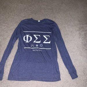 Tops - Phi Sigma Sigma long sleeve